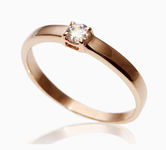 On sale Gold rings with zircon 17067218