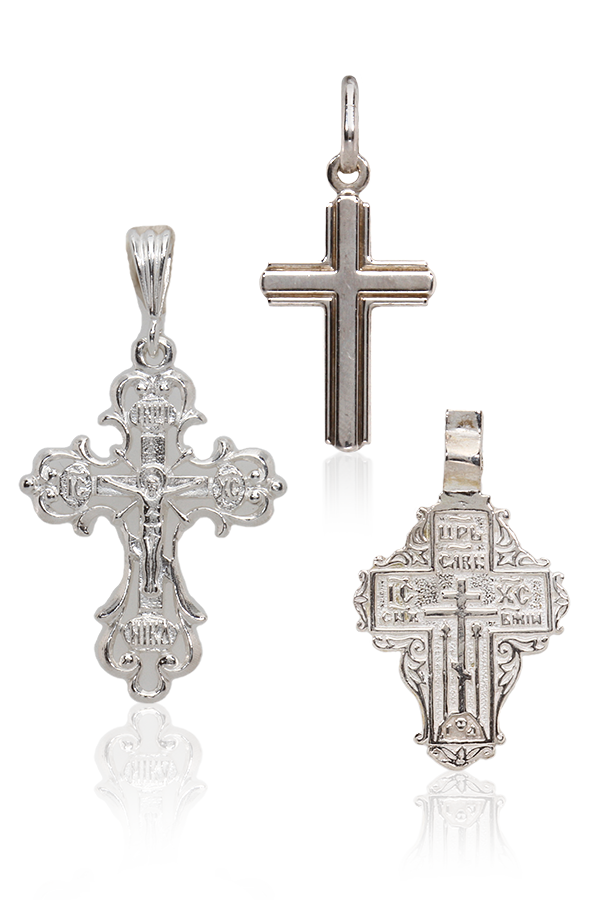Silver jewellery - Crosses