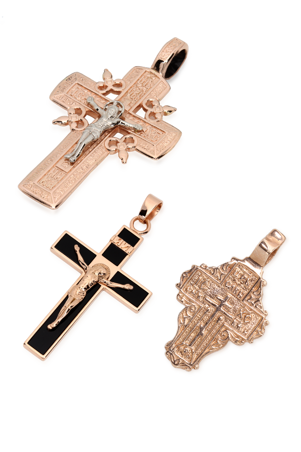 Gold jewellery - Crosses