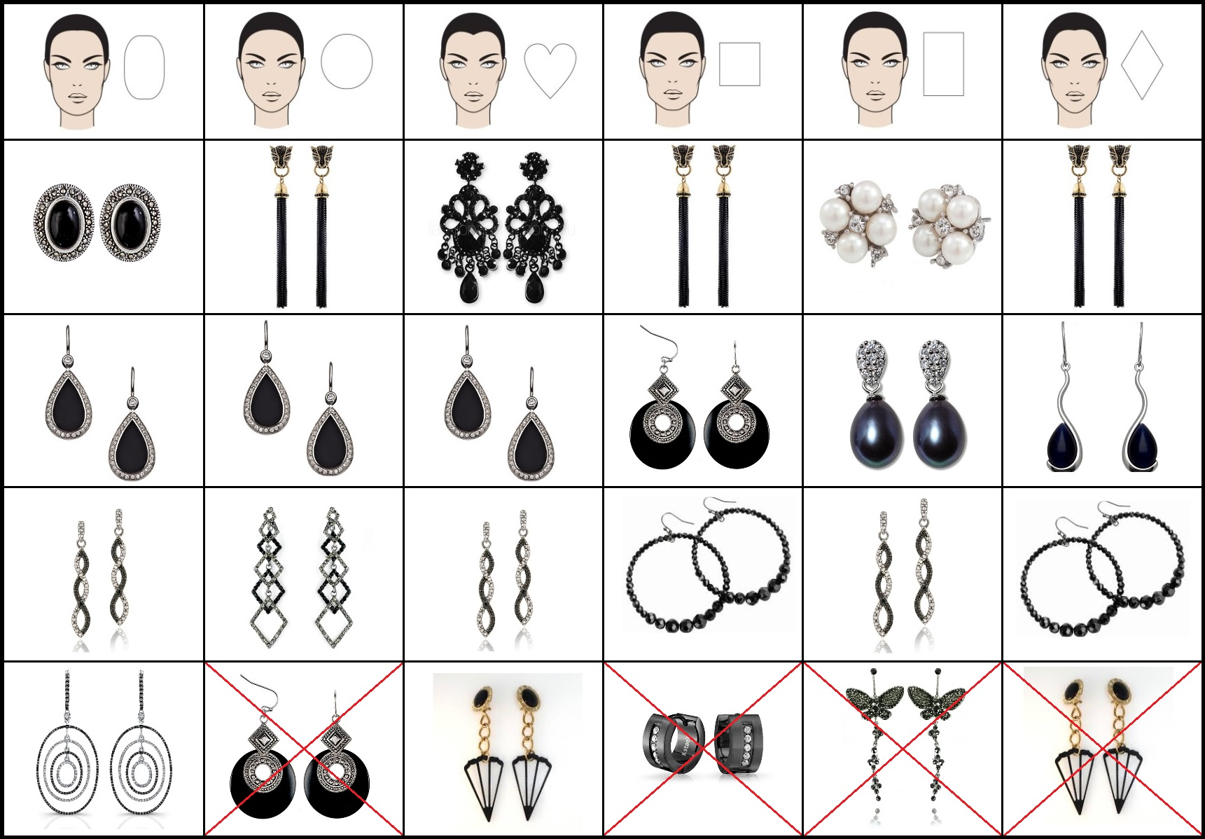 your to the oval how best find earrings face for shape blog justfab